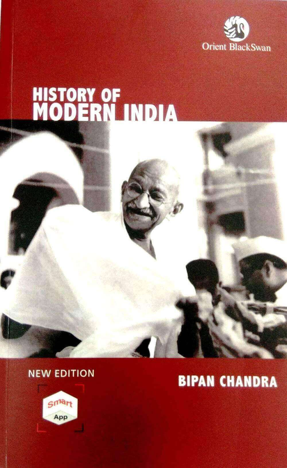 History of Modern India by Bipan Chandra