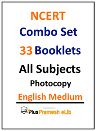 NCERT Combo Set English Medium Class 6th to 12th UPSC, State PCS and other Competitive Exams